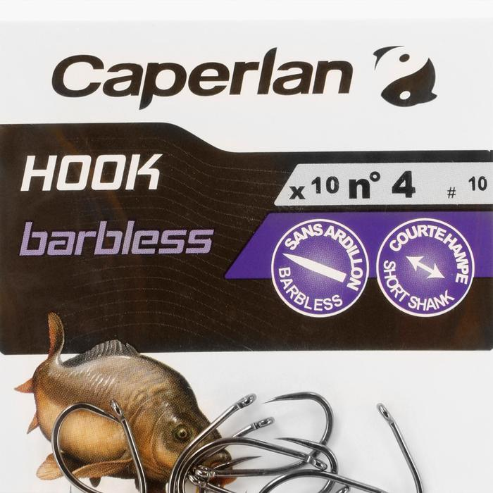 Haken karpervissen Hook Barbless