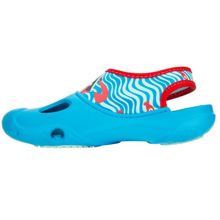 Bade-Clogs 100 Kinder Pirat blau