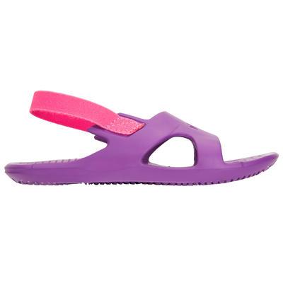 Дитячі сандалі для басейну - Фіолетові/Рожеві