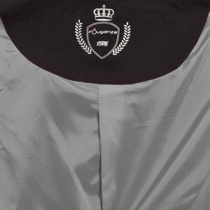 Veste de Concours équitation femme COMP500 noir - 10582