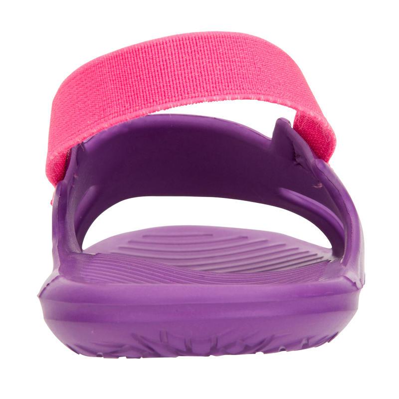 Girls' Pool Sandals Slap 100 - Purple Pink