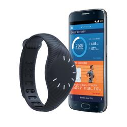 Activity tracker ONcoach 100 zwart