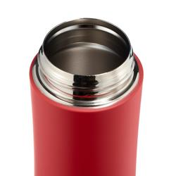 Stainless isothermal hiking mug 0.35 litres red