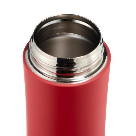 Термочашка з неіржавної сталі для туризму, 0,35 л - Червона