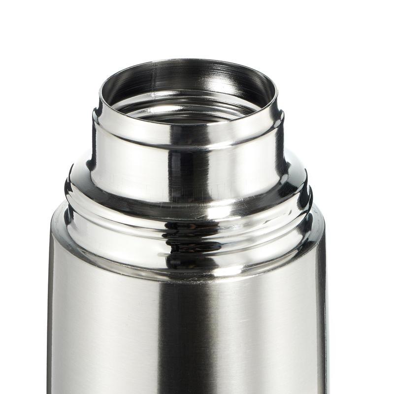 Bouteille isotherme randonnée inox 1 litre métal