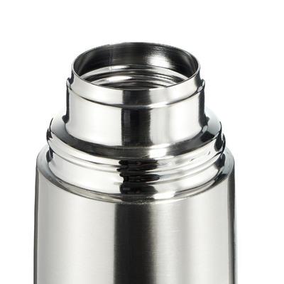 Ізотермічна пляшка для туризму, з неіржавної сталі, 1 л - Металева