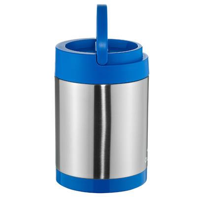صندوق طعام ستانلس ستيل يحافظ على درجة حرارة الطعام (بحجرتين للطعام) سعة 2 لتر