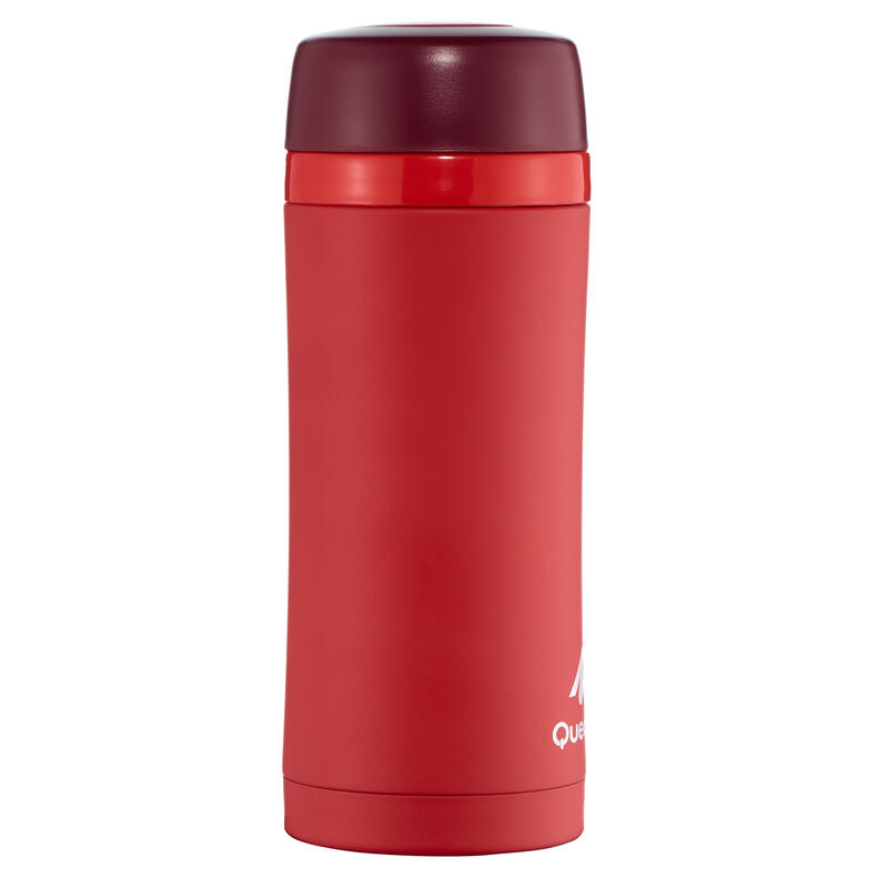 Insulated Flask 0.35L Stainless Steel - Red