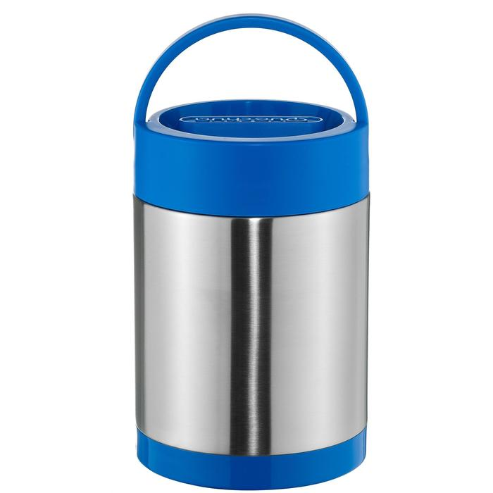 Isolerende voedselcontainer voor trekking rvs (met 2 bewaardoosjes) 2 liter