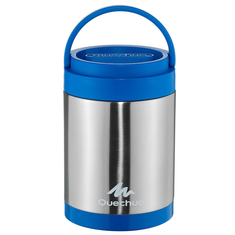 Mountain HikinStainless steel isothermal food box (with 2 food compartments) 2L