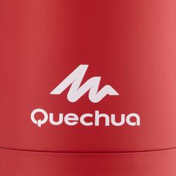 Mug isotherme randonnée inox 0,35 litre rouge
