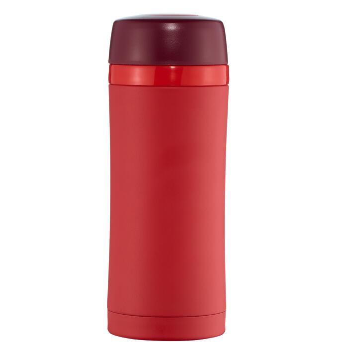 Isolerende trekkingmug rvs 0,35 liter rood