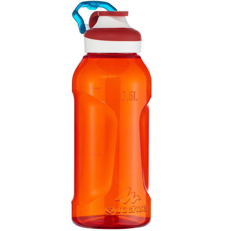 Trinkflaschen Wandern Wandern - Trinkflasche 500 Tritan 0,5l QUECHUA - Wanderausrüstung