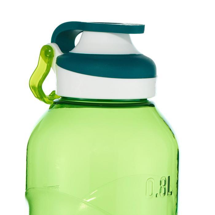Drinkfles met sneldop 500 0,8 liter plastic (Tritan) groen