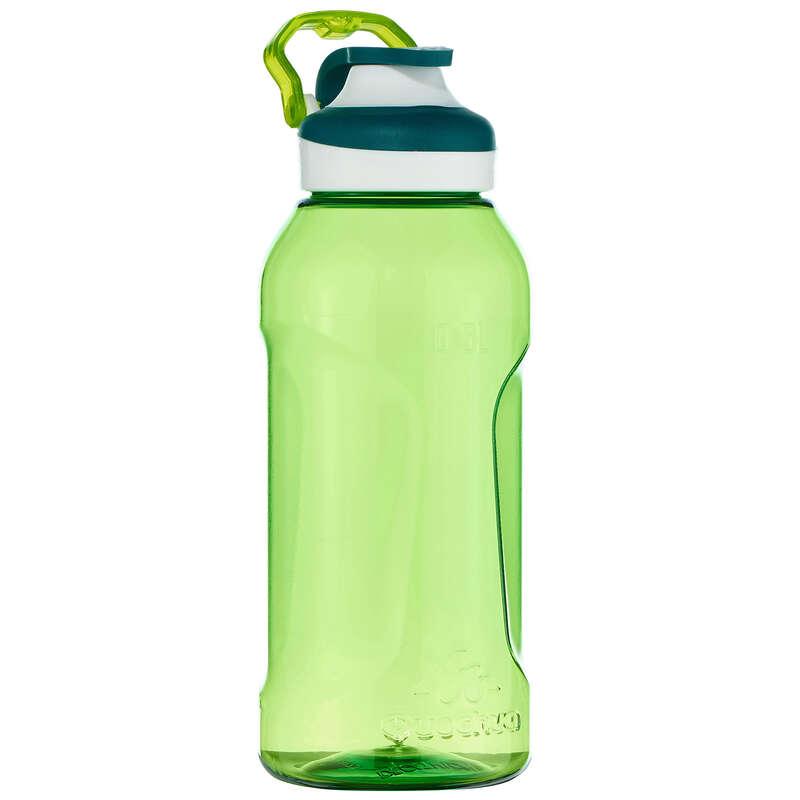 ФЛЯГИ ПОХОДНЫЕ Спортивное питание - Фляга 0,5 л зеленая тритан 500 QUECHUA - Спортивное питание