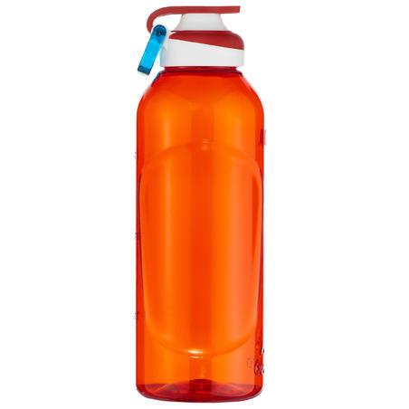 Botella Botella Plástico Camping Quechua 500 Apertura Fácil 0,8 Litros Rojo