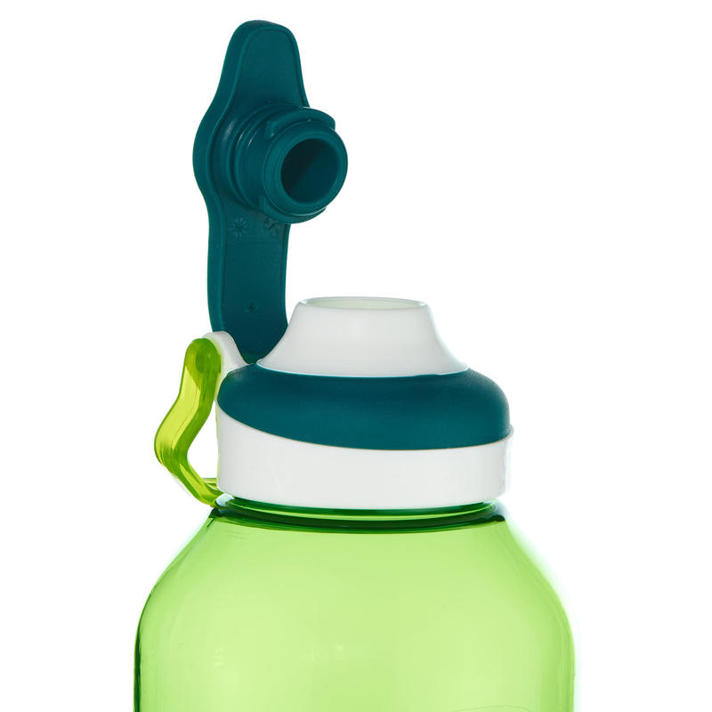 Water Bottle 500 with Quick Opening Cap 0.8 Litre Titan Plastic - Green