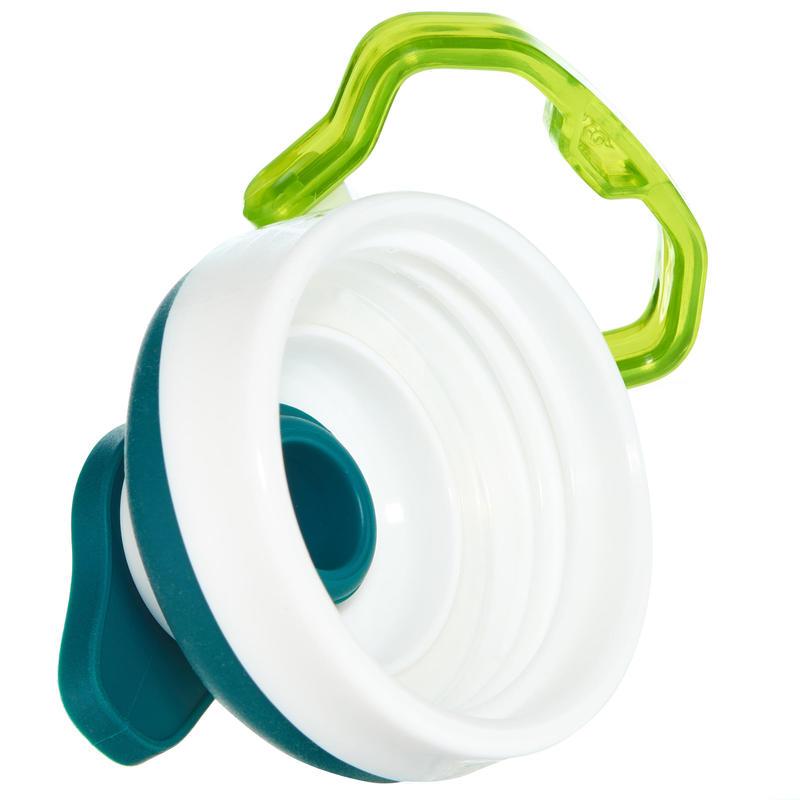 ขวดน้ำพลาสติก (Tritan) 0.5 ลิตรพร้อมฝาปิดแบบเปิดได้ทันทีรุ่น 500 (สีเขียว)