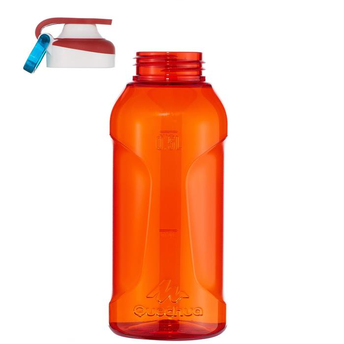 Gourde randonnée 500 bouchon ouverture rapide 0,5 litre plastique (Tritan) - 1058544