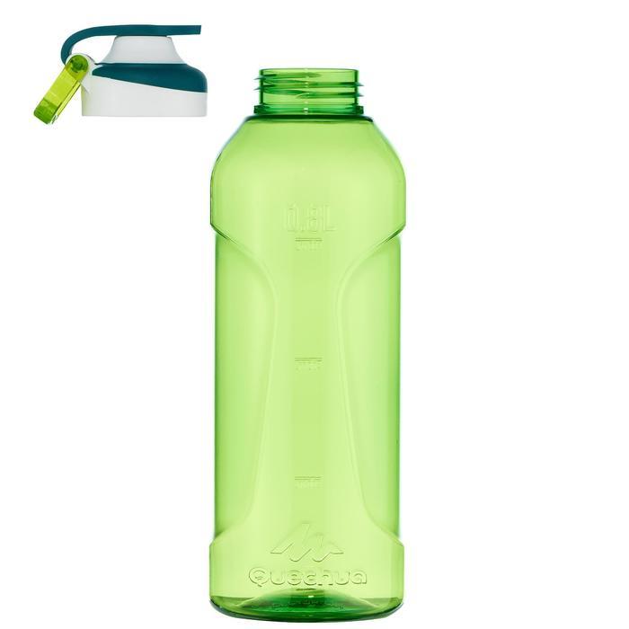 Gourde randonnée 500 bouchon ouverture rapide 0,8 litre plastique (Tritan) - 1058553