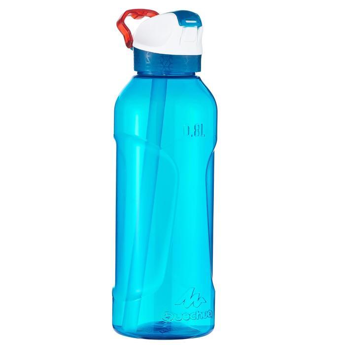 900 Tritan Plastic 0.8L Hiking Water Bottle with Instant Spout - Blue