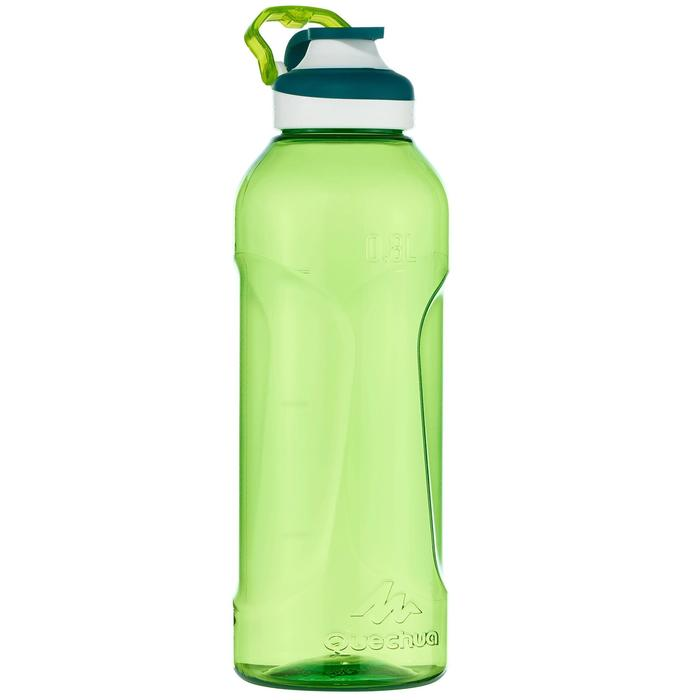 Gourde randonnée 500 bouchon ouverture rapide 0,8 litre plastique (Tritan) - 1058563