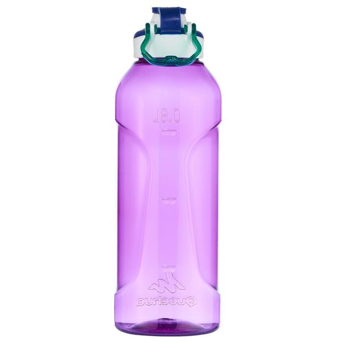 Drinkfles 500 voor wandelen sportdop 0,8 liter Tritan-kunststof paars