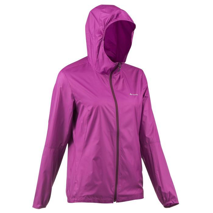 FH100 Helium Wind Women's hiking windproof jacket - Grey - 1058689
