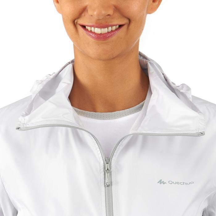 FH100 Helium Wind Women's hiking windproof jacket - Grey - 1058690
