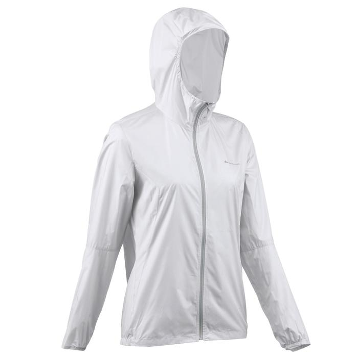 FH100 Helium Wind Women's hiking windproof jacket - Grey - 1058691