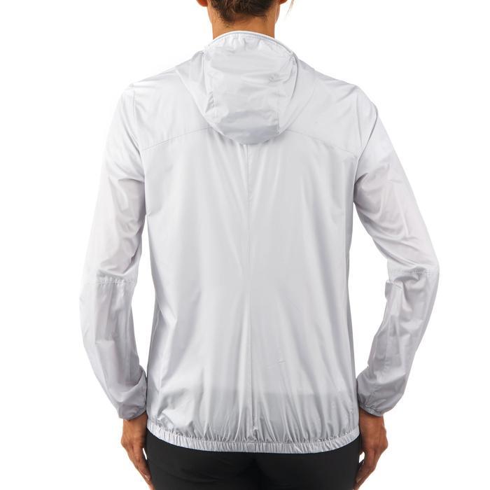 FH100 Helium Wind Women's hiking windproof jacket - Grey - 1058692