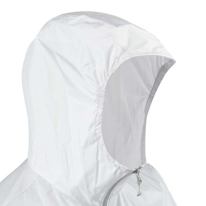 FH100 Helium Wind Women's hiking windproof jacket - Grey - 1058693