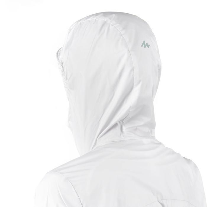 FH100 Helium Wind Women's hiking windproof jacket - Grey - 1058694