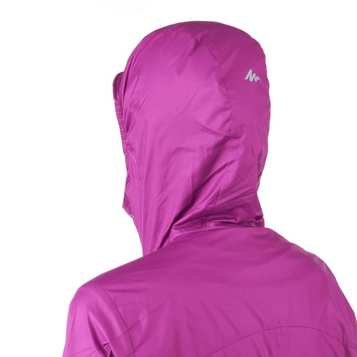 FH100 Helium Wind Women's hiking windproof jacket - Grey - 1058695