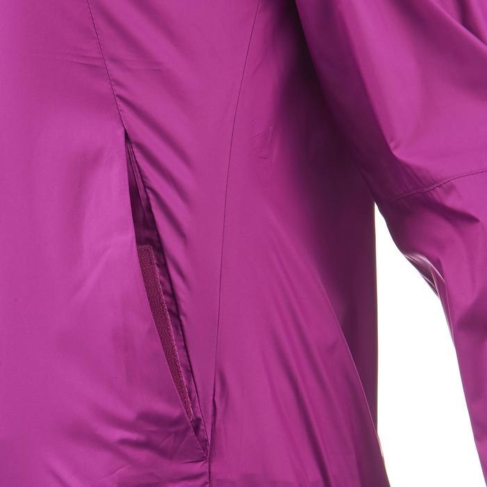 FH100 Helium Wind Women's hiking windproof jacket - Grey - 1058696