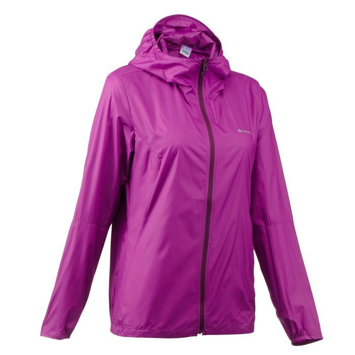 FH100 Helium Wind Women's hiking windproof jacket - Grey - 1058697