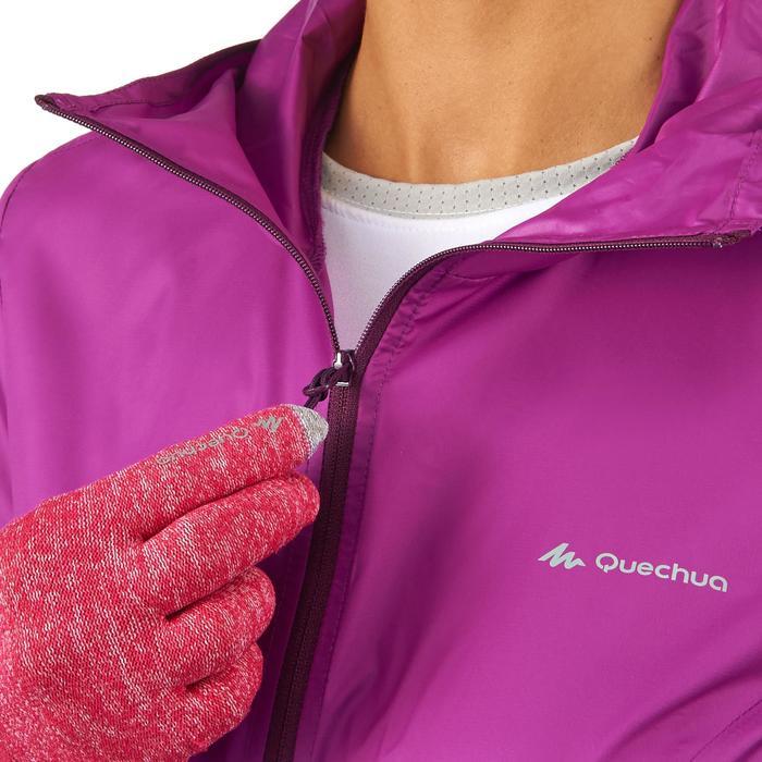 FH100 Helium Wind Women's hiking windproof jacket - Grey - 1058698