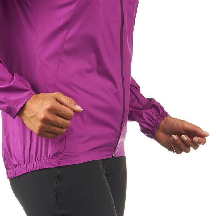 FH100 Helium Wind Women's hiking windproof jacket - Grey - 1058699