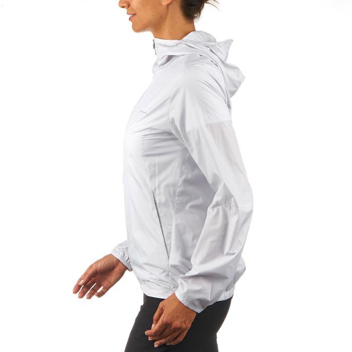FH100 Helium Wind Women's hiking windproof jacket - Grey - 1058700