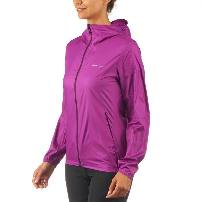 FH100 Helium Wind Women's hiking windproof jacket - Grey - 1058702