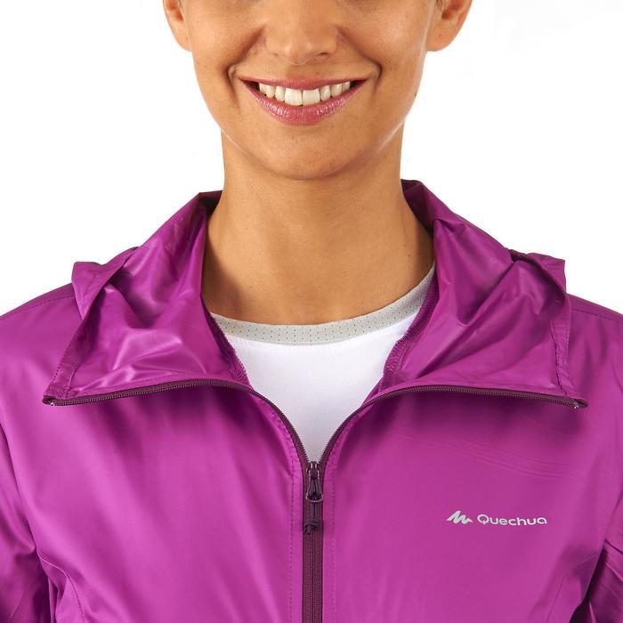 FH100 Helium Wind Women's hiking windproof jacket - Grey - 1058704