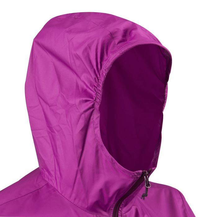 FH100 Helium Wind Women's hiking windproof jacket - Grey - 1058706