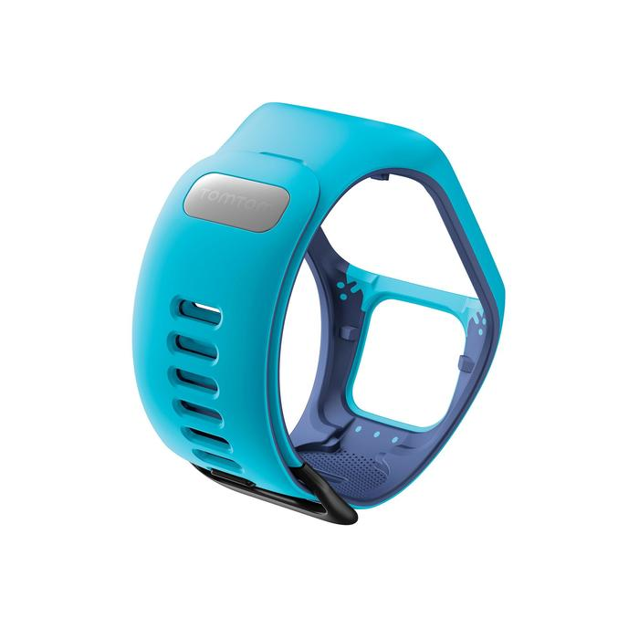 Bracelet de rechange pour Runner 2 / 3 et Golfer 2 bleu (taille S)