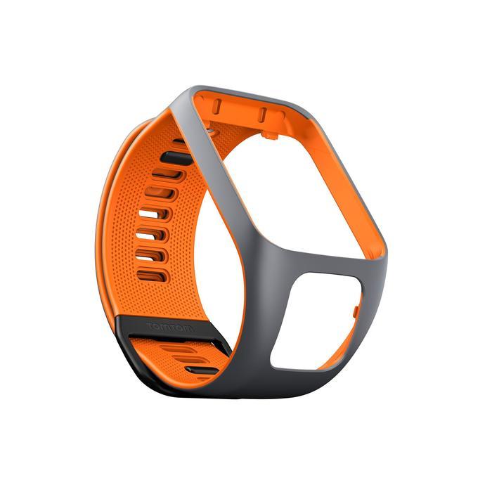 Bracelet de rechange pour Runner 2 / 3 et Golfer 2 gris/orange (taille L) - 1058712