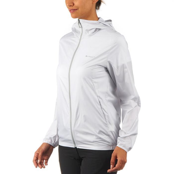 FH100 Helium Wind Women's hiking windproof jacket - Grey - 1058714