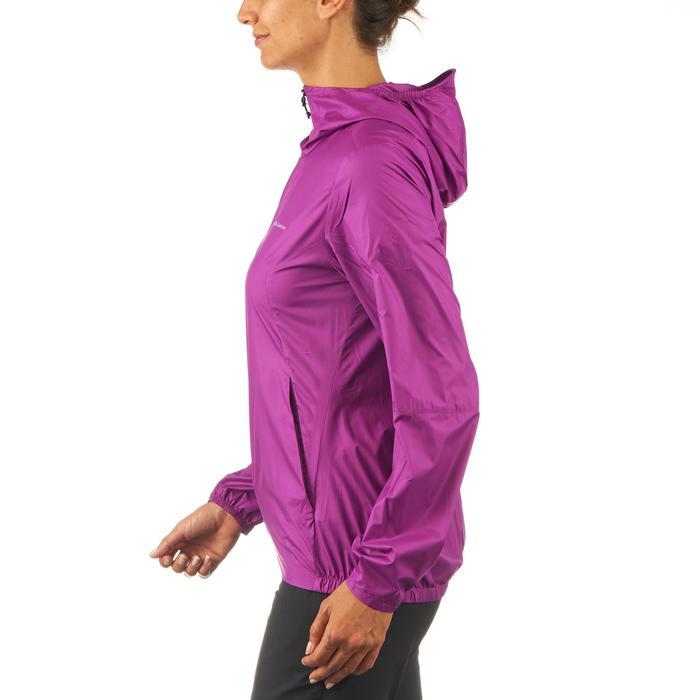 FH100 Helium Wind Women's hiking windproof jacket - Grey - 1058715