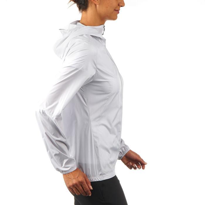 FH100 Helium Wind Women's hiking windproof jacket - Grey - 1058717