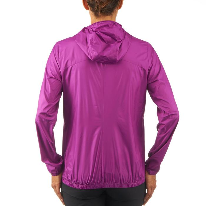 FH100 Helium Wind Women's hiking windproof jacket - Grey - 1058718