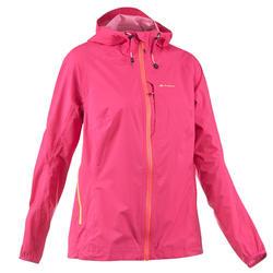 Dames regenjack voor wandelen Helium Rain roze