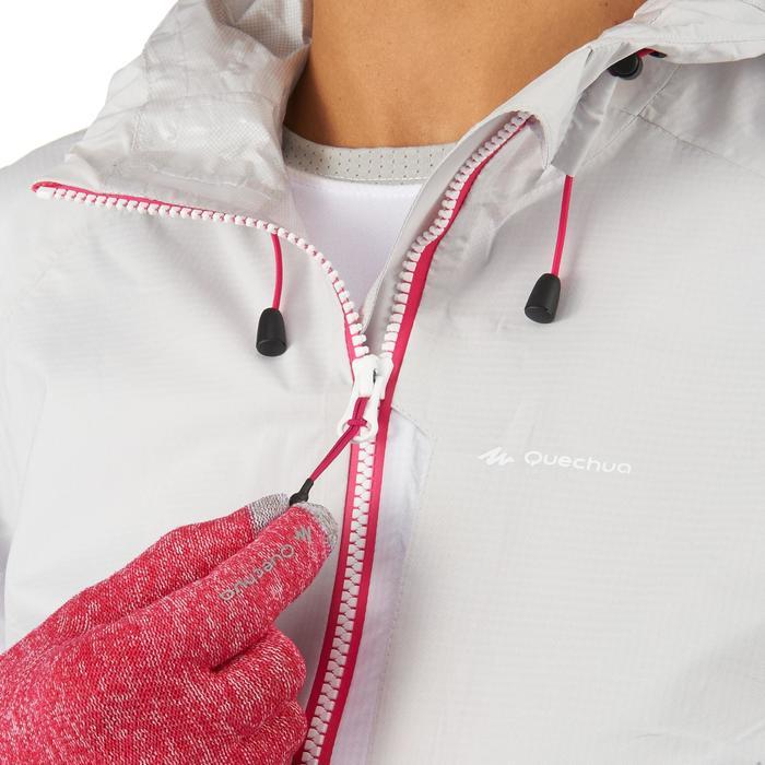 女款健行防雨外套Helium-白色